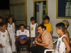Natal Brasile scuola di capoeira del maestro Canalao