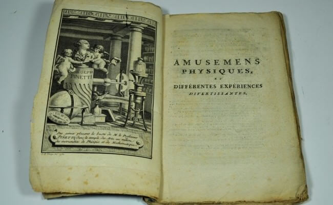 Joseph Pinetti e gli Amusements Physiques