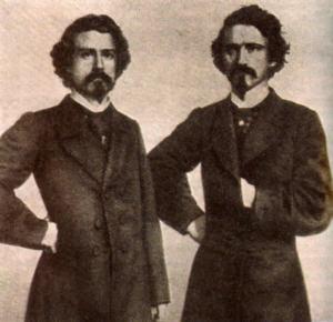 Ira e William Davenport