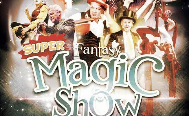 Super Fantasy Magic Show e gli appuntamenti delle feste per i bambini