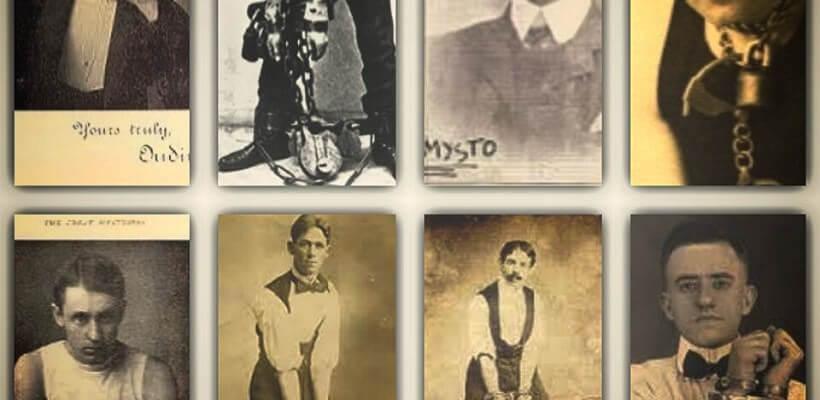 Gli artisti della fuga che diedero filo da torcere al Grande Houdini