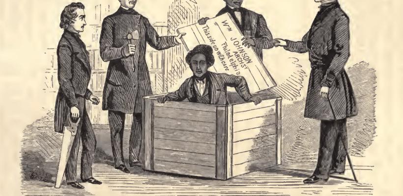 """Henry """"Box"""" Brown, l'uomo che si """"spedí"""" lontano dalla schiavitù"""