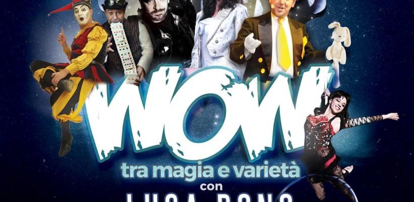 """Luca Bono in """"Wow"""" e gli Spettacoli di Magia di Natale"""