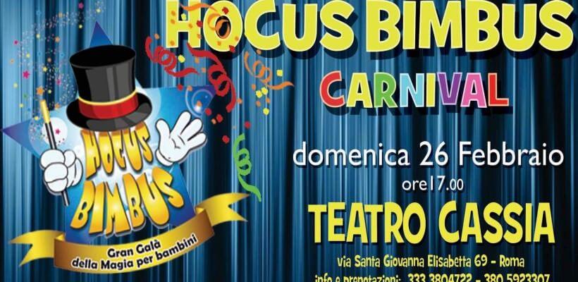 Hocus Bimbus, Gran Galà della magia per bambini