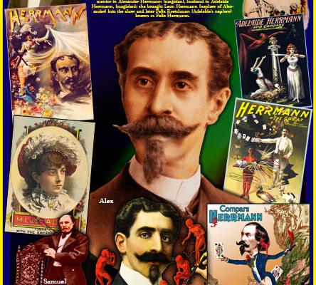 La famiglia Herrmann, cent'anni di magia e spettacolo