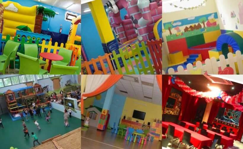 Sale in affitto, location a noleggio feste per bambini a Milano