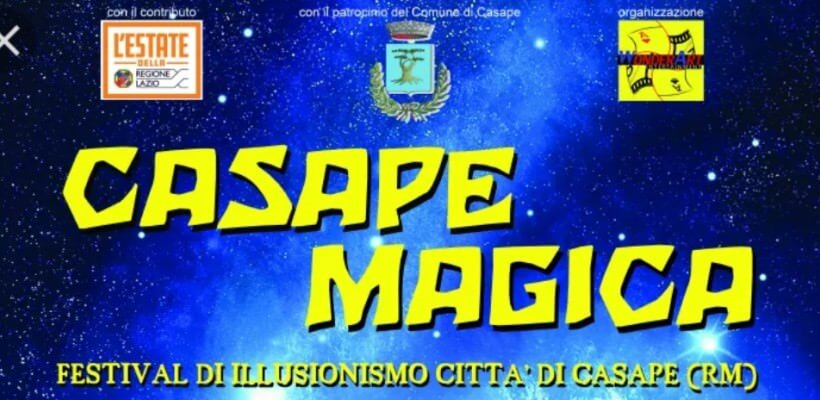 Casape Magica, i maghi premiati al Magic Campus