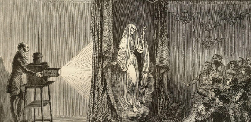 """Robertson, creatore di fantasmi e padre del genere """"horror"""""""