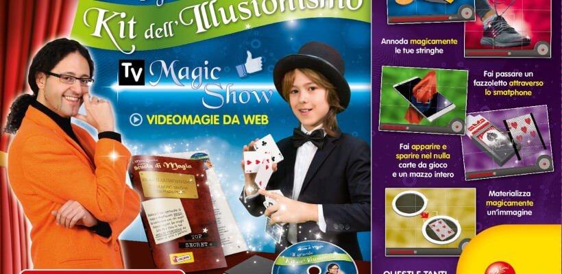 La magia per i bambini, la nuova scatola magica di Gabriele Mago Gentile