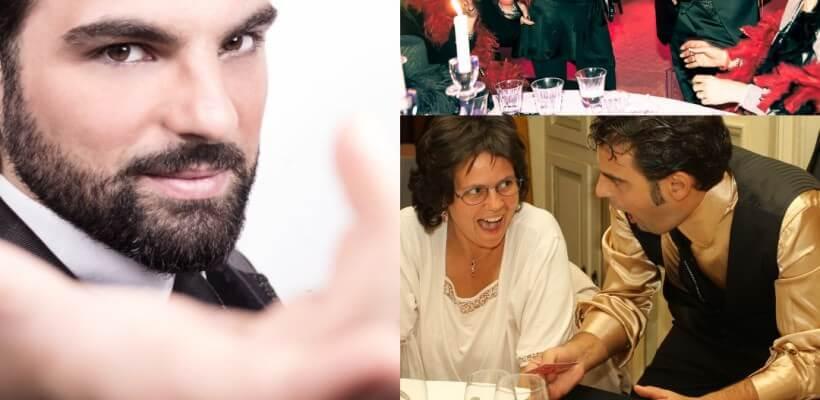 Italian illusionist in Milan, Rome and Venice