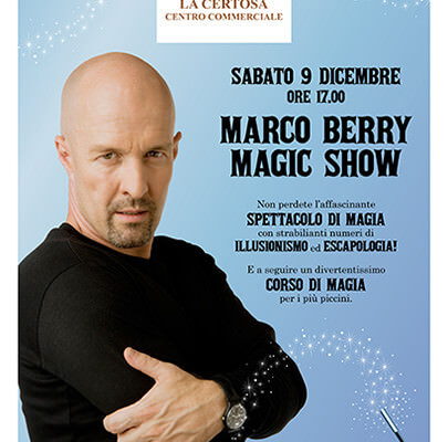 Marco Berry Magic Show