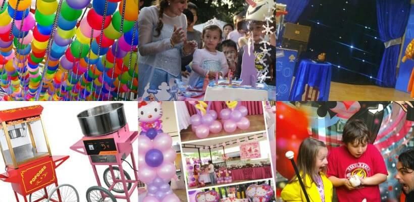 Idee per feste di compleanno, Maghi, Marionette, Bolle & Co. Addobbi e allestimenti.
