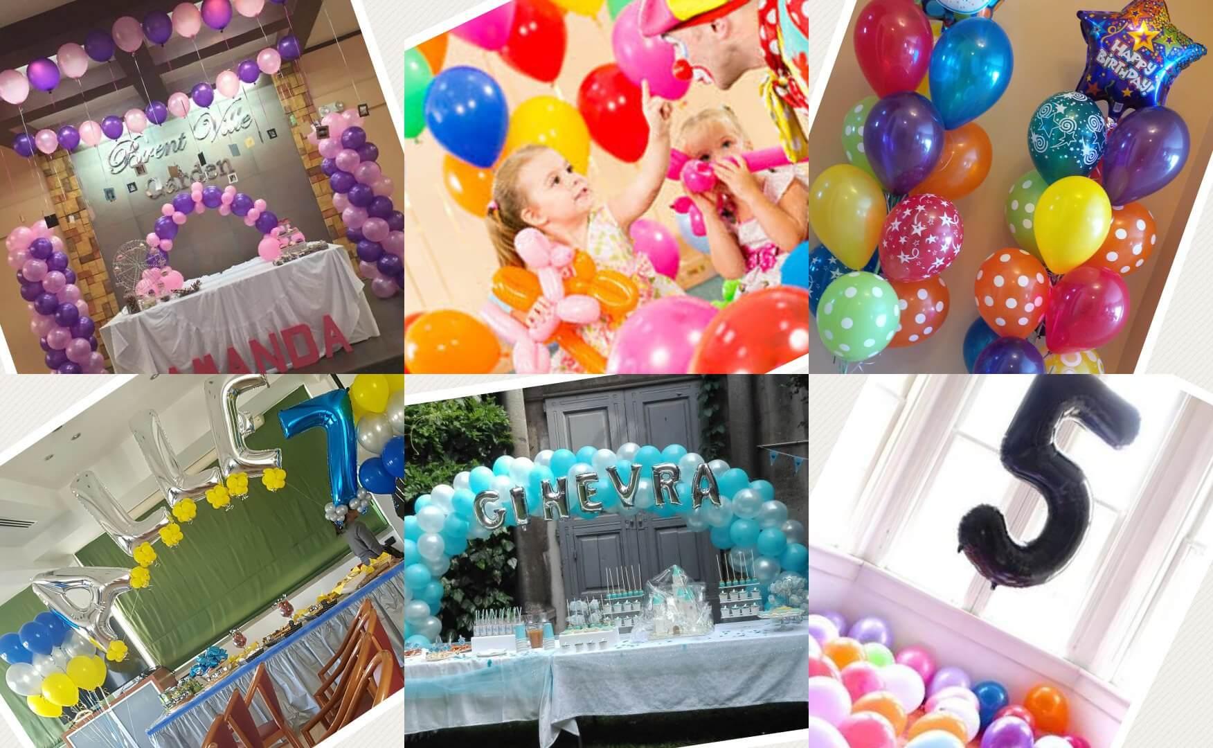 Idee per feste di compleanno maghi marionette bolle for Addobbi per feste