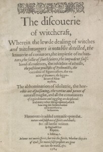 The Discovery of Witchcraft