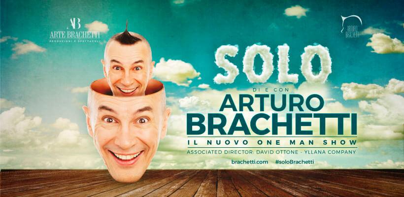 Solo, Arturo Brachetti – Tour 2018