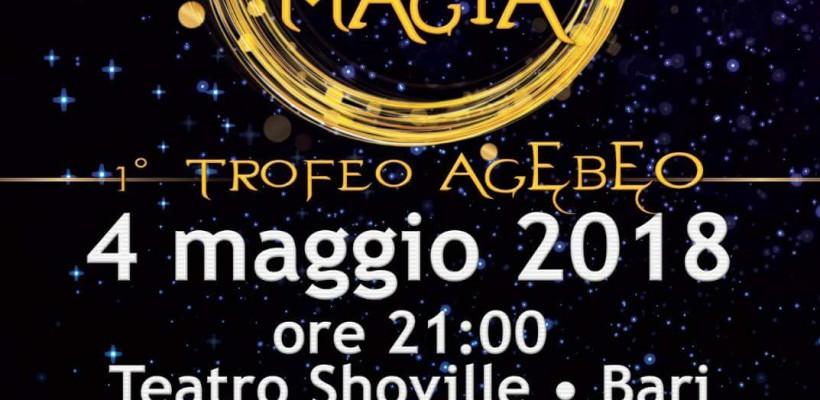 Festival della Magia, 1° trofeo Agebeo, Bari