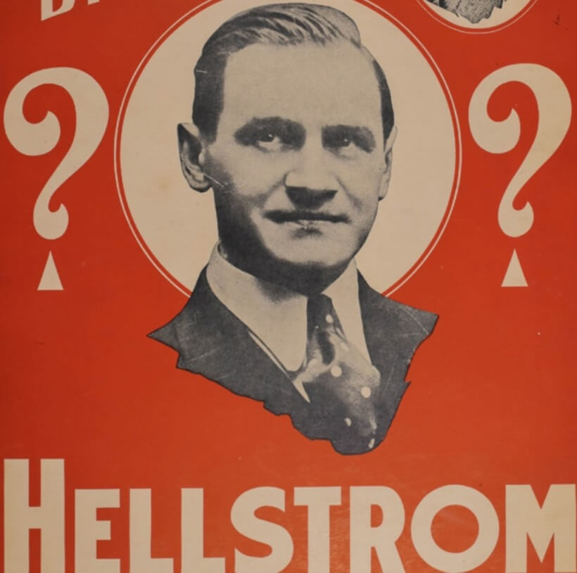 La lettura muscolare di Hellstrom, The Man with the Sixth Sense