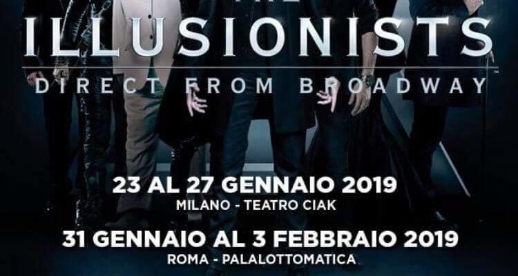 The Illusionists arriva a Milano e Roma