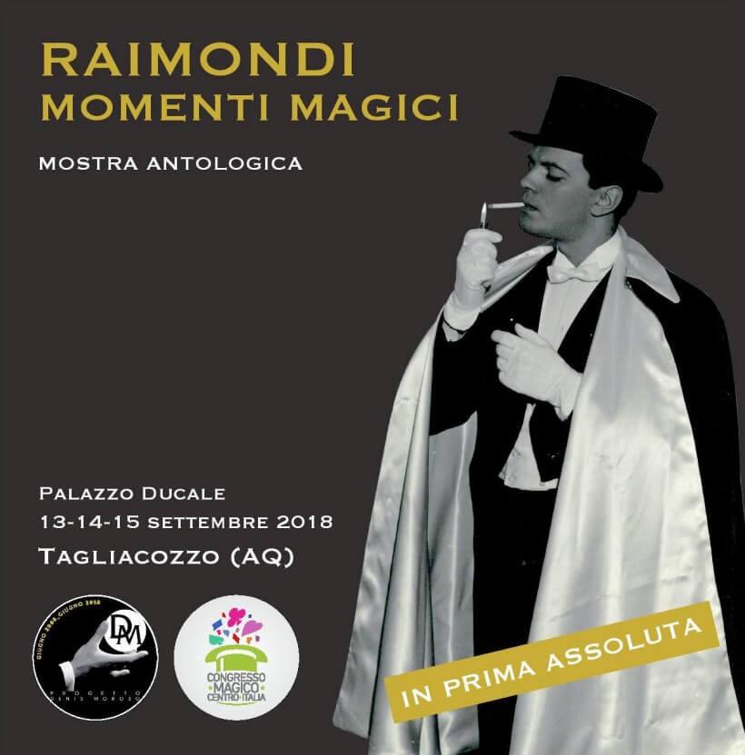 Vinicio Raimondi, la Mostra antologica