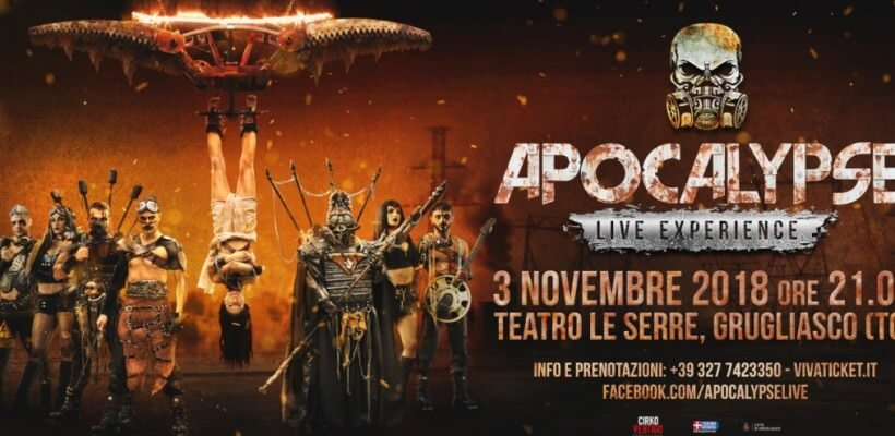 Paolo Carta in Apocalypse Live Experience Show