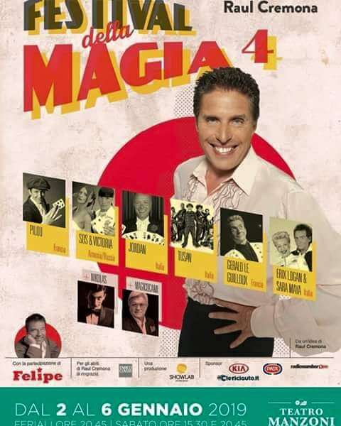 Festival della Magia 4, Raul Cremona