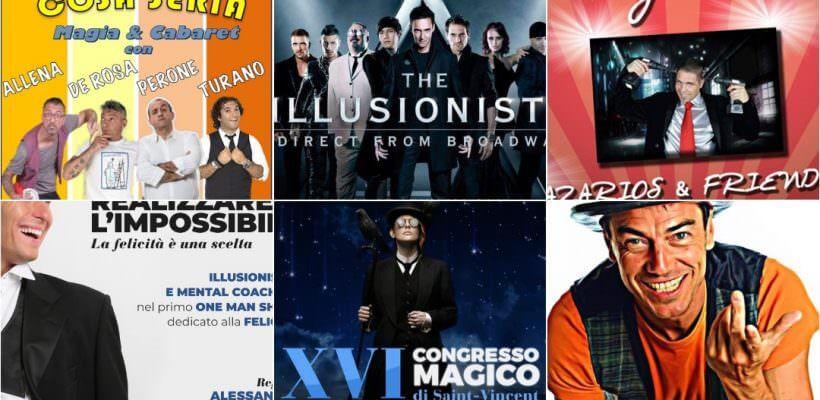 Spettacoli di Magia 2019, Eventi Magici, Congressi e Convention