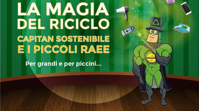 Una magia per il riciclo, 60 date per l'Italia