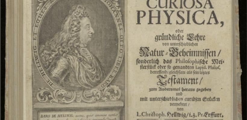 1600 testi occulti digitalizzati dalla biblioteca Ritman. Magia, alchimia e astrologia.