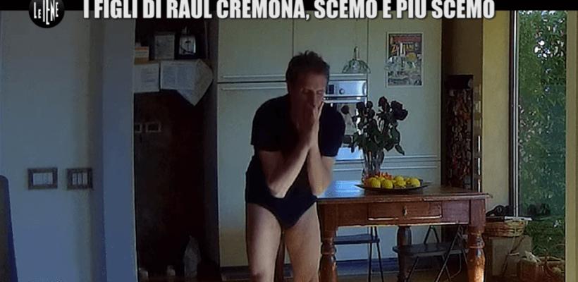 Raul Cremona, lo scherzo delle Iene
