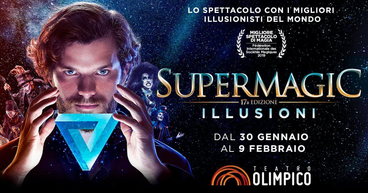 Supermagic 2020 Roma teatro olimpico