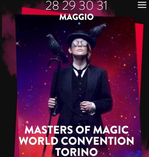 Masters of Magic 2020, Torino, il congresso magico più atteso dell'anno
