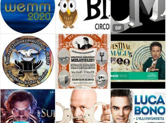 Spettacoli di magia 2020, congressi ed eventi magici