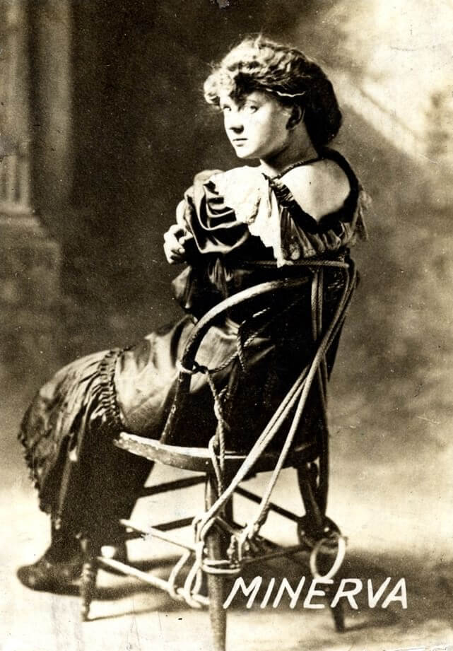 Minerva Vano, la regina delle manette